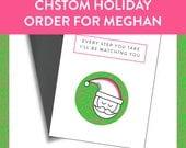 Custom order for Meghan