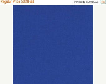 SALE Deep Blue, Kona Cotton, Robert Kaufman Fabric, 1/2 Yard