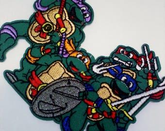 Teenage Mutant Ninja Turtles Iron on Patch- GROUP
