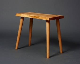 Maple bench etsy staked leg maple bench sciox Gallery