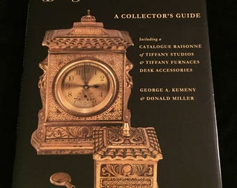 Tiffany Desk Treasures - A Collector's Guide FIRST EDITION by Kemeny/Miller
