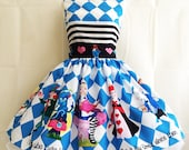 Prom Dress, Alice In Wonderland Dress, Alice Cosplay ,Costume Quirky Dresses  By Rooby Lane