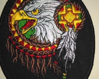 Eagle Head Dreamcatcher Patch