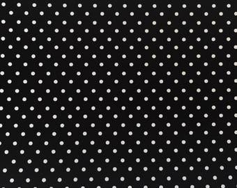 Robert Kaufman Pimatex Black BKT 6003-2, Polka Dot, Basics