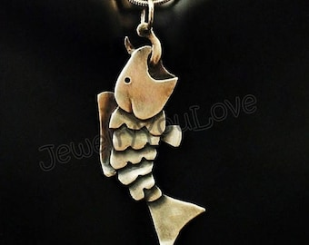 Sterling Silver Fish Necklace - Catch of the Day
