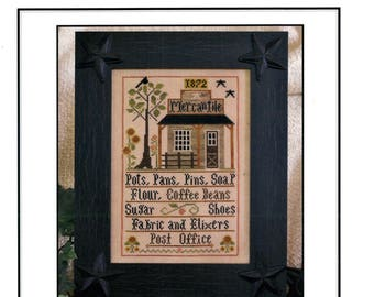 Little House Needleworks: The Mercantile - Cross Stitch Pattern