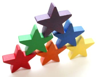 Star Stacking Set - Classic Rainbow
