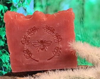 Rose Garden Honey and Beeswax Soap