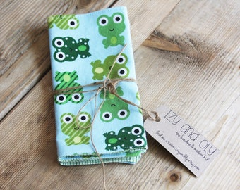 Lunchbox Napkins - Frogs