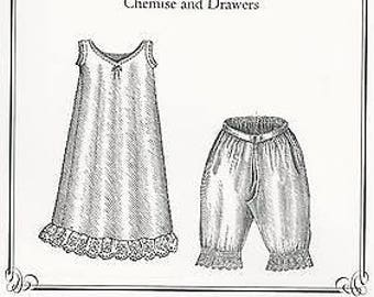 Pattern for Chemis and Drawers by Truly Victorian