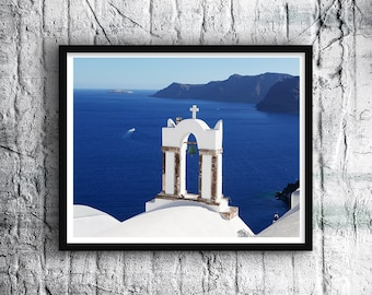 Santorini View, Landscape Photography, Print