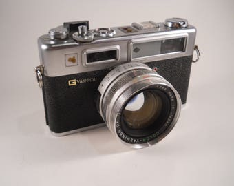 Yashica 35mm Film Camera with lens