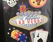 Las Vegas 3D Stickers La Petites