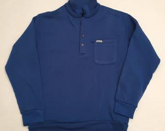 Vintage Weatherman 1/4 Button Up Sweatshirt