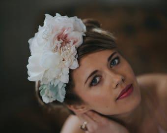 Pastel flower crown 'Lowenna'