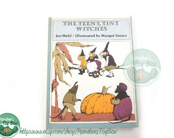 The Teeny Tiny Witches by Jan Wahl Vintage 1970s Hardcover Book