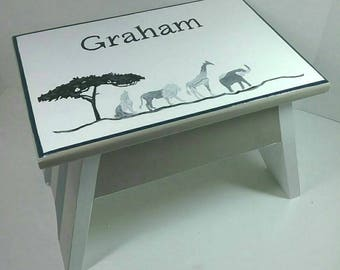 Personalized Stool Etsy