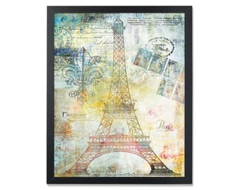 Eiffel tower wall art Paris art print Paris Printable decor Eiffel Tower print Paris poster French theme Eiffel Tower printable Paris theme