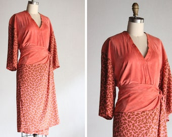 Vintage Guayaba Seeds Dress