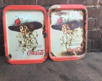 Coca-Cola metal tray