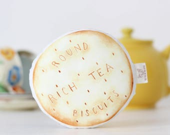 Rich Tea Biscuit Baby Rattle Baby Gift Baby shower Gift