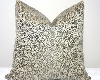 sale giving thanks decorative animal print pillow cover leopard charcoal grey tan pillow cover leopard print