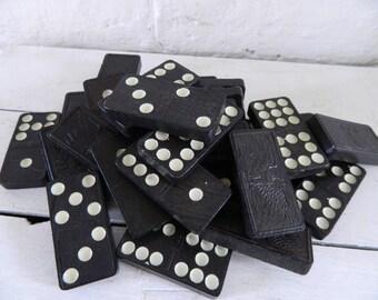 Vintage Large Dominoes - 30