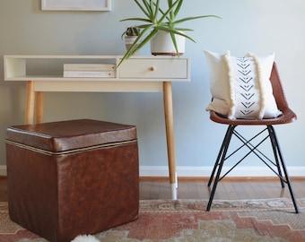 Fringe Linen Pillow/Custom Pillow/Black Pattern/Ivory/Artisan Pillow/Handmade/New Collection/ZigZag Studio Design