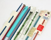 Miscellaneous Afghan Hooks and Crochet Hooks | Boye , Susan Bates , Leewards , Scovill | Size F , H , I , J , K , 6 , 10 | Mostly Aluminum