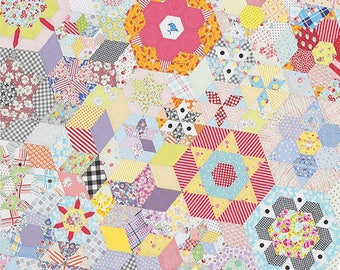 Smitten quilt pattern by lucy Carson Kingwell for Jen Kingwell designs