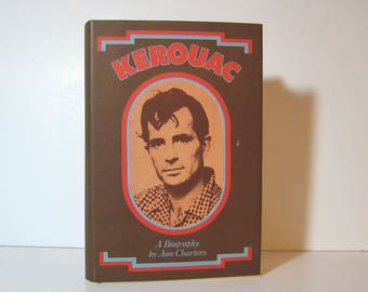 Jack Kerouac Beat Generation On the Road, Dharma Bums, The Famous Biography by Ann Charters, 1973 Second Printing, Vintage Book