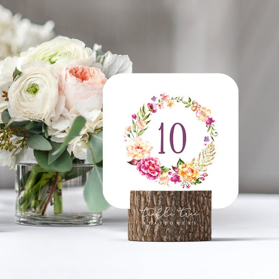 Table Numbers - Venice in Bloom (Style 13783)