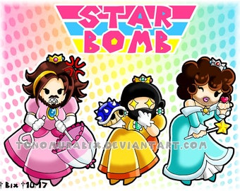 Star Bomb / Game Grumps [PRINT]
