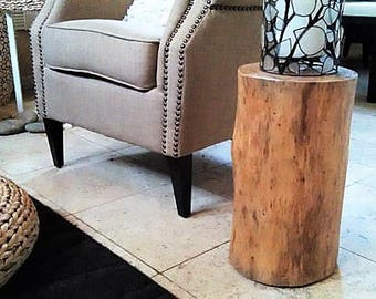 Tree Stump Table   Log Table   Tree Trunk Table   Reclaimed Wood Table    Pine