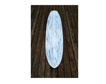 "7'-0"" Surfboard: Eco Foam/ Carbon Fiber/ Painted/ Bio Resin"