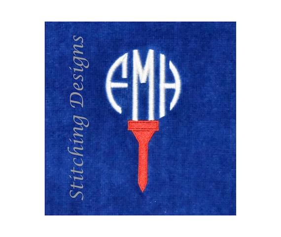 Monogrammed Golf Towel Personalized Golf Towel Groomsmen