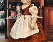 Fall Dirndl for 18 Inch Dolls