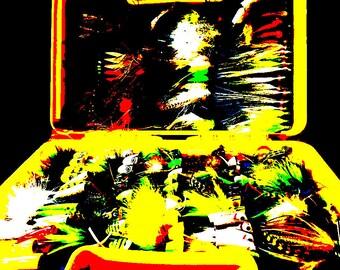 Smallmouth Flies - Fine Giclee Print