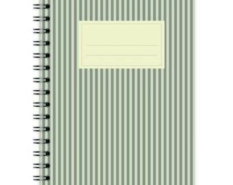 Notebook A6 - Stripes
