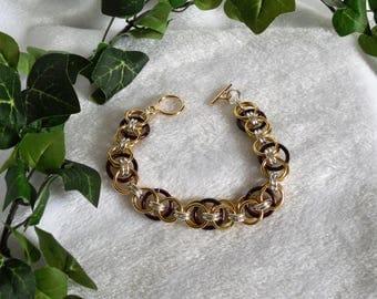 S'mores Helm Chain Bracelet  B-134