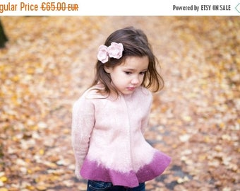 summersale Felted wool jacket | pink jacket | girls jacket | wool felt jacket for girls | pink wool jacket | fall trend