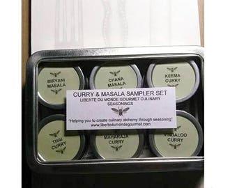 Curry & Masala Sampler Set