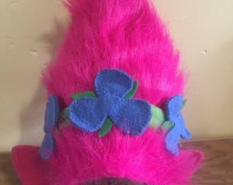 Princess Poppy Troll Hat