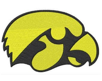 Iowa Hawkeyes Embroidered Iron Patch
