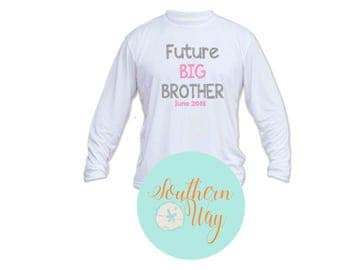 Future Big Brother kids Shirt, Big Brother Announement Shirt, Gifts for Children, Kids T shirt, Kids Shirts, Future Big Brother