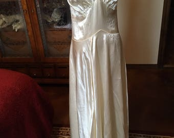 Couture 1930s Wedding Gown