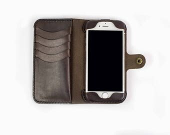iPhone 7 Leather Phone Case Wallet / sale / clearance / iphone 7 case / iphone 7 wallet/ iphone case / iphone leather