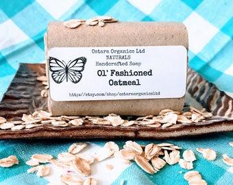 Oatmeal Soap, Goat Milk Soap, Oatmeal, Oatmeal Soap Bar, Honey Soap, Natural Soap Bar, Organic Soap Bar, Artisan Soap, Handmade Soap, Gift