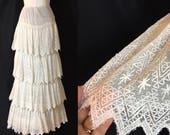 Vintage Antique Lace Tier...