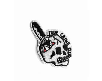 True Crime Iron on Patch